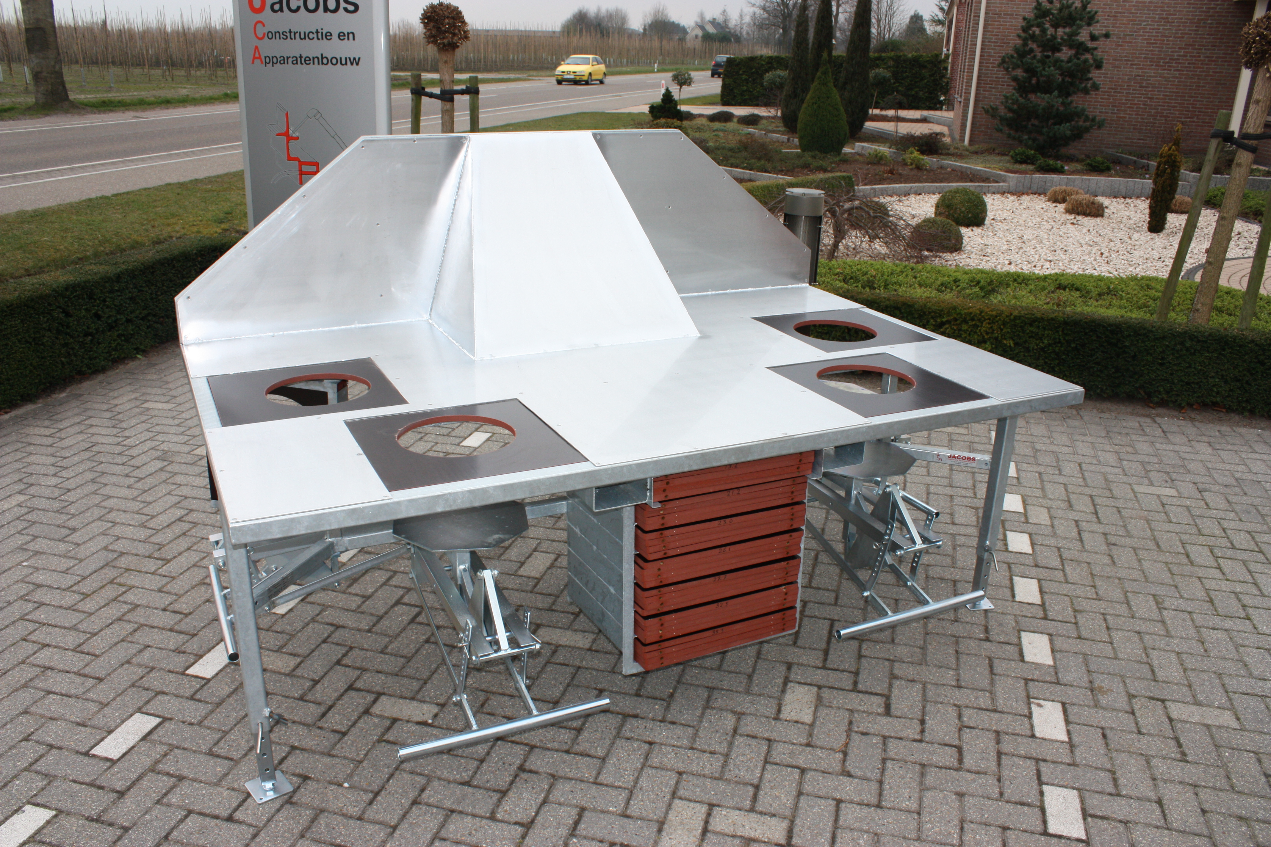 of potting outdoor bench with sink faucet and picture luxury table
